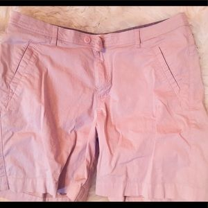 Soft light pink Riders brand shorts size 18W